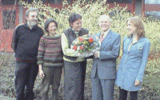 Franz Saxler zum Ehrenvorsitzenden gewählt